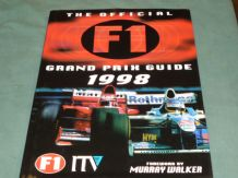 OFFICIAL F1 ITV GRAND PRIX GUIDE 1998 : THE (Jones)